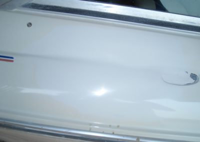 Picture of damaged hull